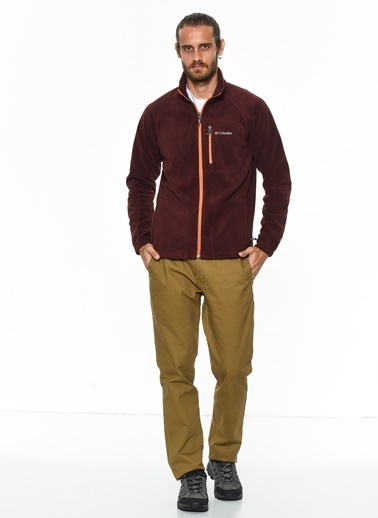 Columbia Polar Sweatshirt Bordo